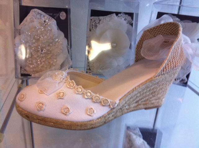 Alpargata de novia de venta en Innovias