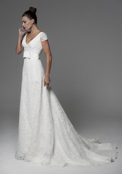 Alquiler vestidos de novia manga larga