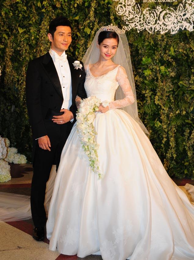Vestidos de novia de las actrices