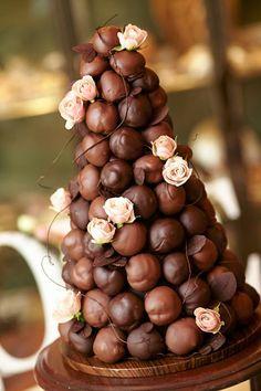 croquembouche boda chocolate