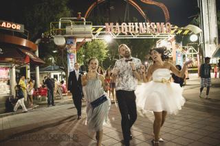 boda parque atracciones