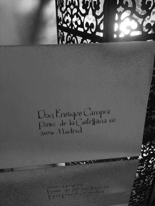 caligrafia con arte invitaciones