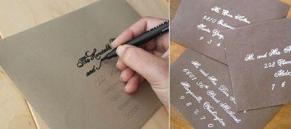 caligrafia handmade