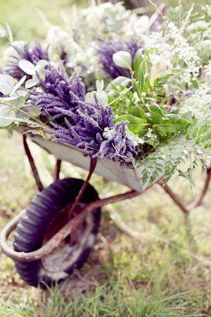 carretillas boda rural