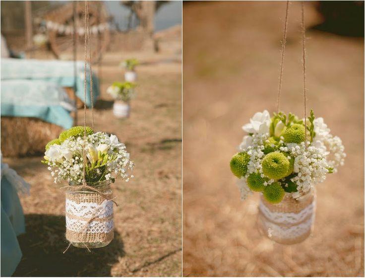 decoracion boda rural