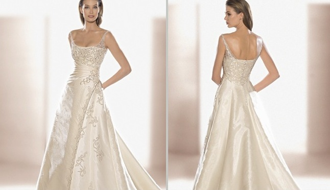 vestidos de novia románticos | innovias