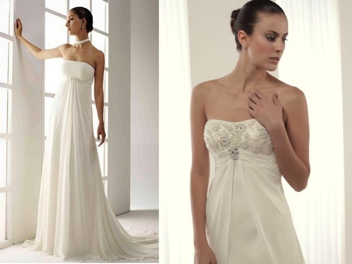 vestidos de novia con escote halter | innovias
