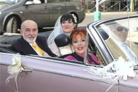 llegada boda irene villa