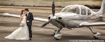 novia avioneta