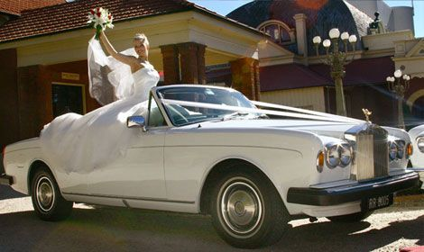 novia coche