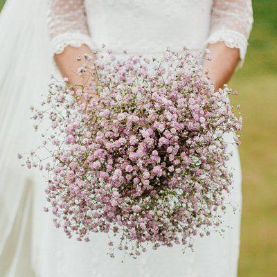 ramo de novia rosa cuarzo
