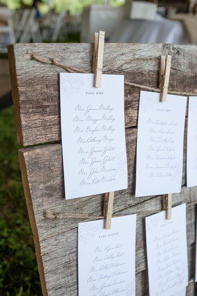 seating plan boda rustica