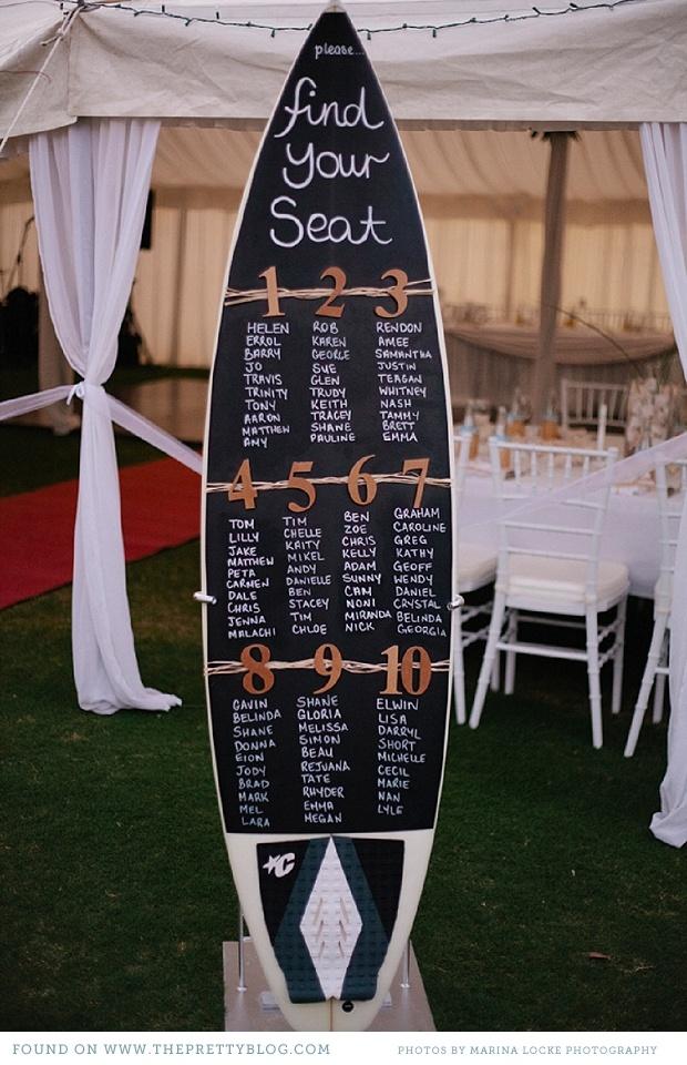 seating plan surf