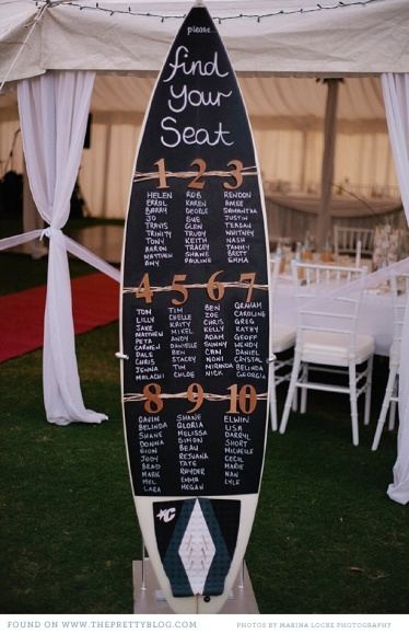 seating plan surf