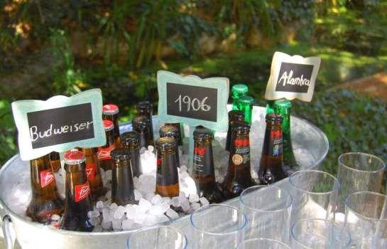 self service de bebidas boda