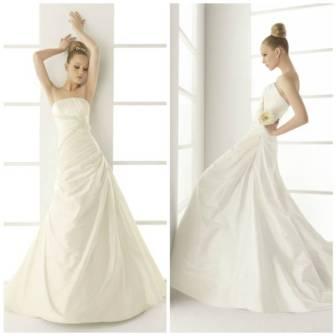 vestido de novia en renta muselina de innovias