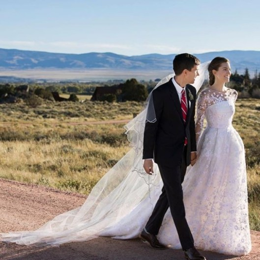 Allison Williams boda