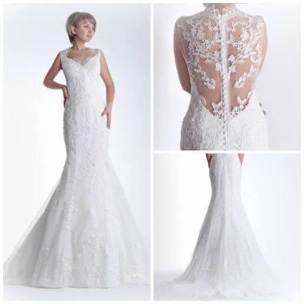 vestidos de novia espalda encaje | innovias