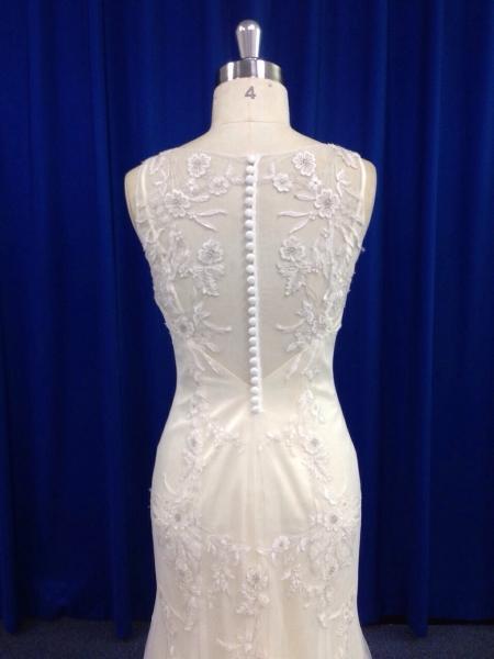 vestido de novia perla espalda cerca innovias