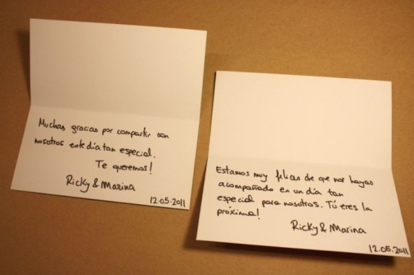 Textos De Agradecimiento A Tus Invitados De Boda By Innovias