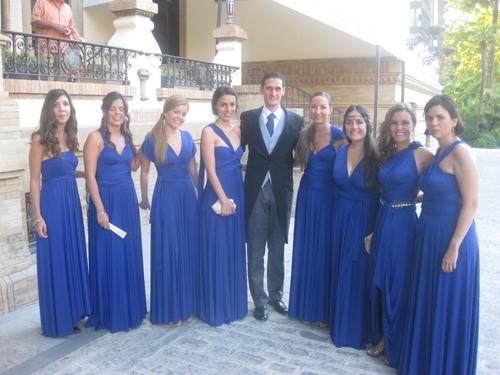 Vestidos para damas de honor 2014