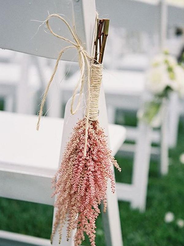 decoracion sillas boda civil rosa cuarzo
