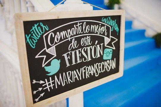 hashtag de boda