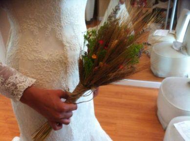 Ramo de novia espigas innovias