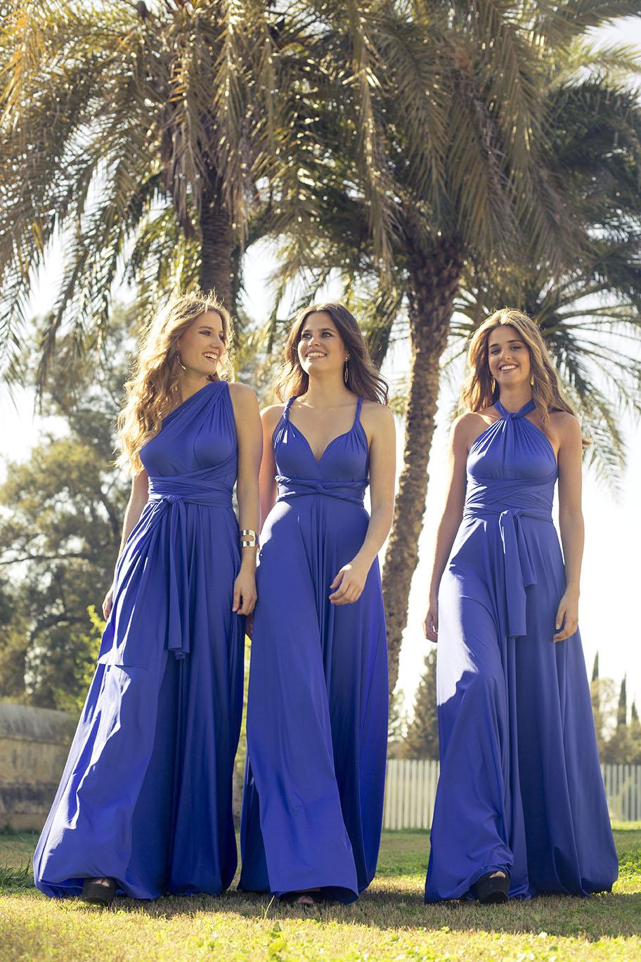4abd8bcd72 El vestido multiusos para invitadas y damas de honor de Rojo Carmesí ...