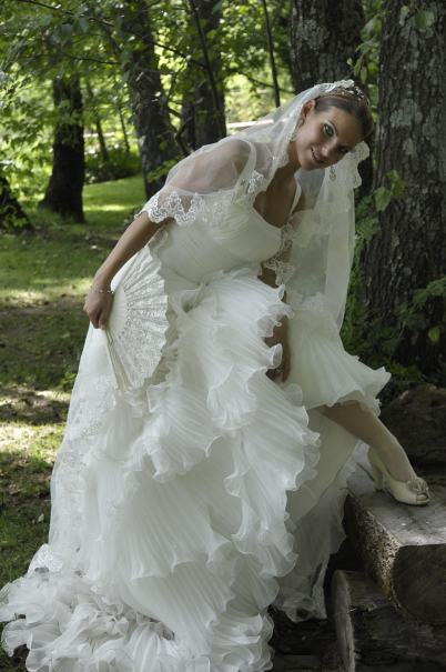 anita zapatos novia