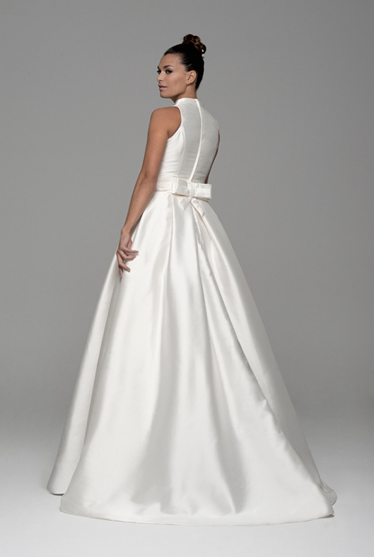 d955fb05c Los consejos Innovias para recoger la cola del vestido de novia y ...