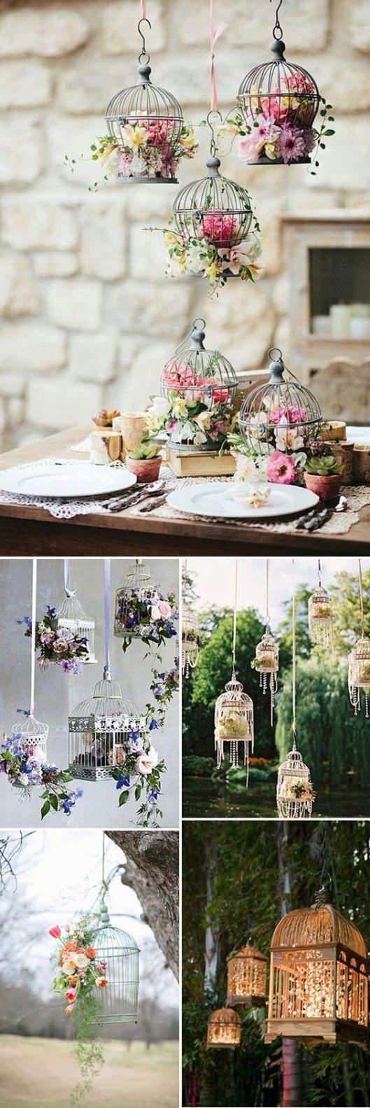 jaulas decoracion boda