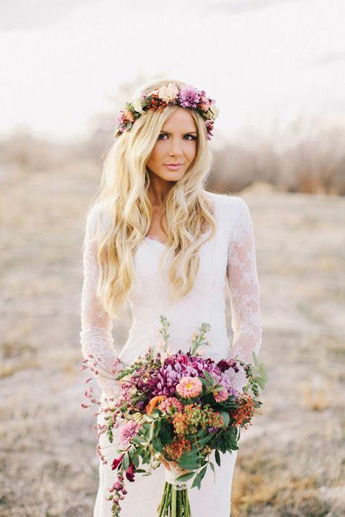 novia-con-tocado-de-flores