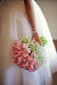 ramo-novia-romántico-tulipanes