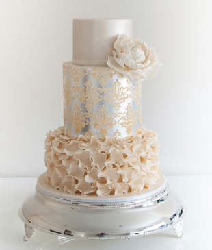 metallic-wedding-cake-3a