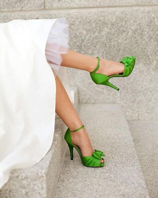 zapato color citrico