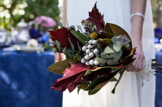 ramo-novia-invierno-hojas