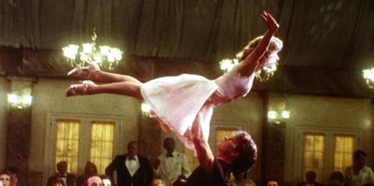 Patrick Swayze and Jennifer Grey Dirty Dancing, 1987 This is a PR photo. WENN does not claim any Copyright or License in the attached material. Fees charged by WENN are for WENN's services only, and do not, nor are they intended to, convey to the user any ownership of Copyright or License in the material. By publishing this material, the user expressly agrees to indemnify and to hold WENN harmless from any claims, demands, or causes of action arising out of or connected in any way with user's publication of the material. Supplied by WENN.com