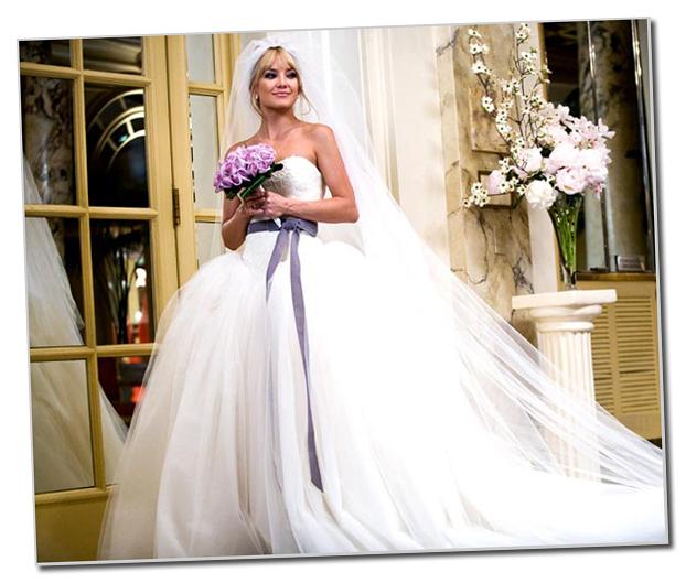 Vestido de novia en guerra de novias