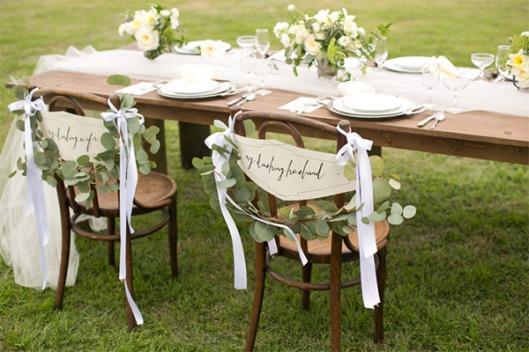 guirnaldas de eucalipto para bodas