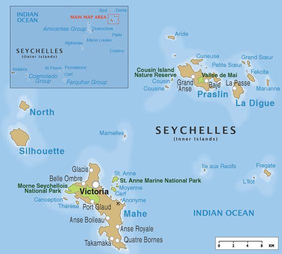 Islas Seychelles Innovias