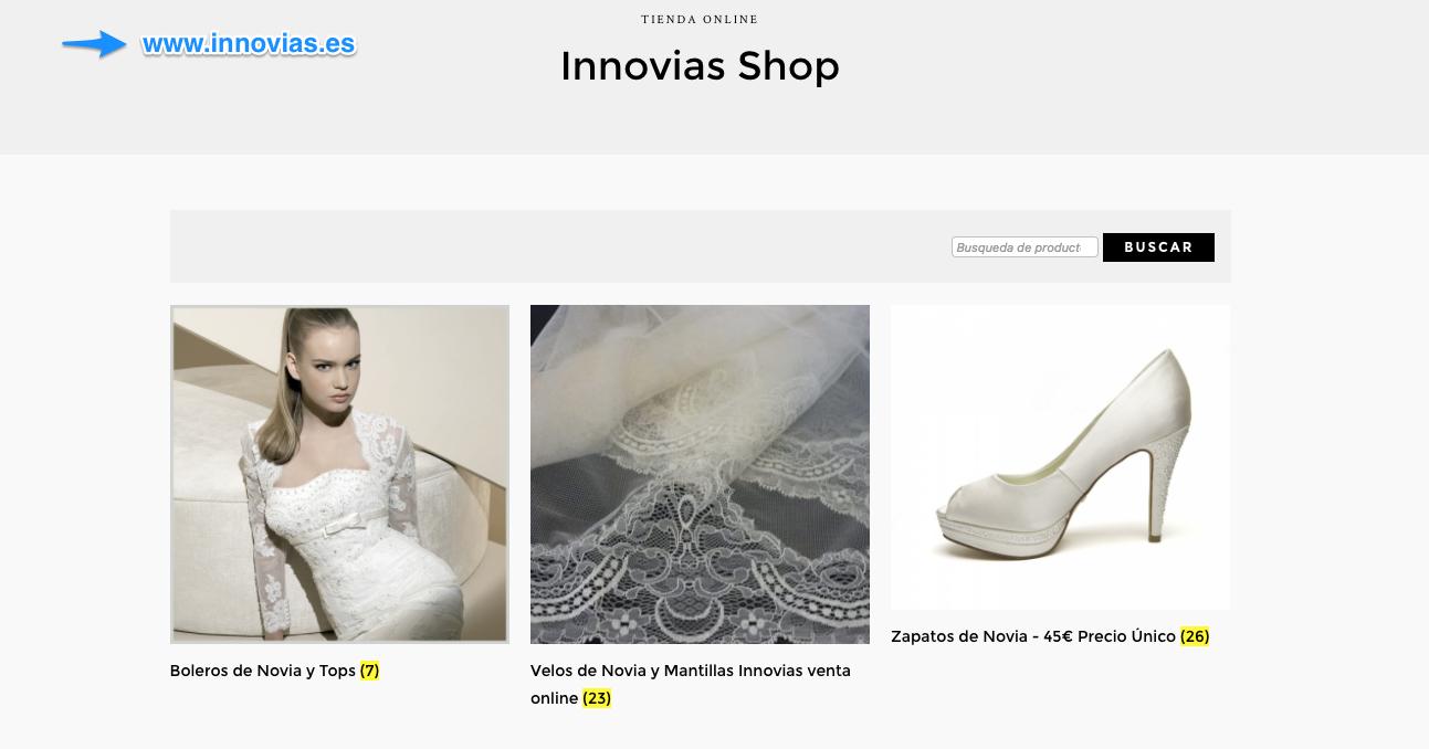 e1185624 Llega la tienda online de Innovias | Innovias