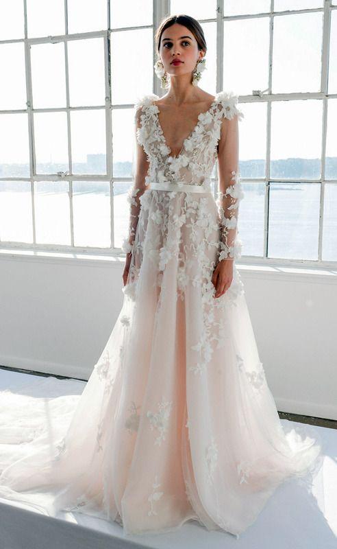 vestidos de novia con flores | innovias