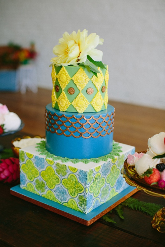 Tropical Cuban Wedding Inspiration - photo by Amber Vickery Photography http://ruffledblog.com/tropical-cuban-wedding-inspiration