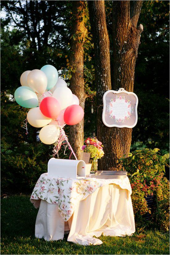 Coches bodas innovias for Arreglos con globos para boda en jardin