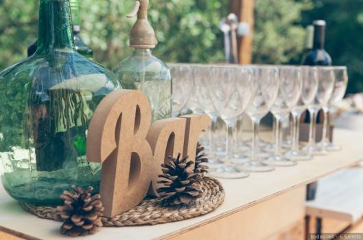 Originales barras libre de bebidas para tu boda by Innovias   Innovias