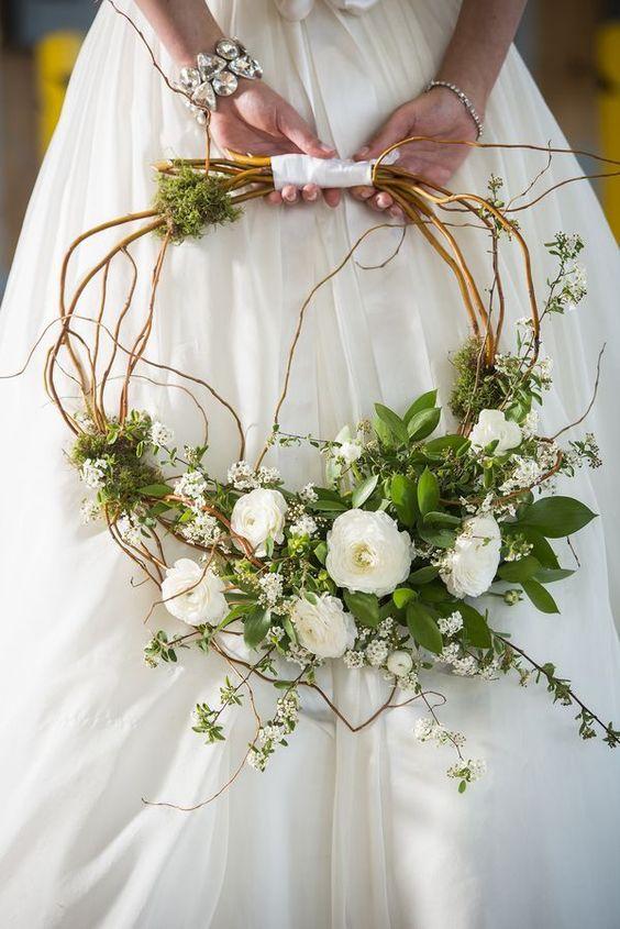 Ramos de novia diferentes 6