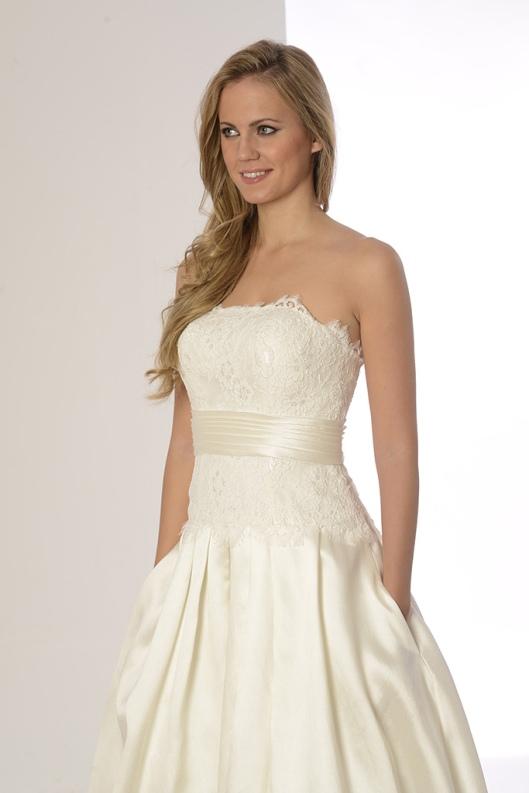 vestidos de novia palabra de honor   Innovias