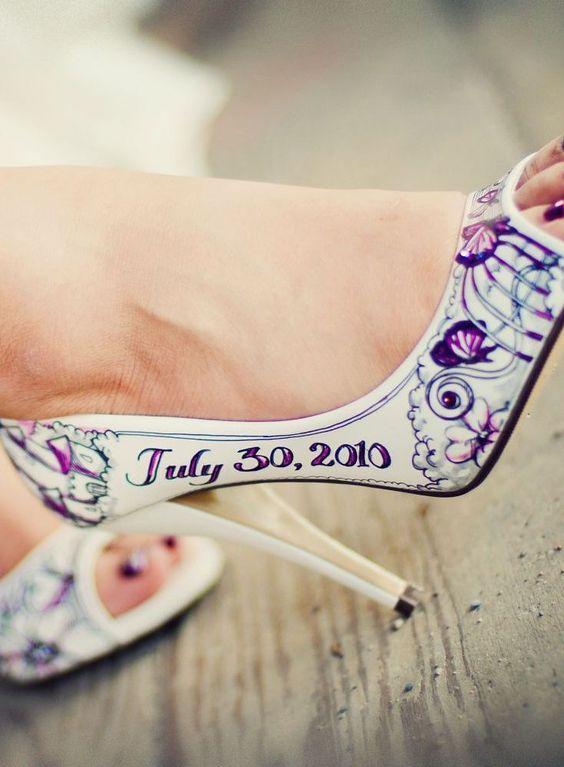 Ideas Con Y Innovias10 Estampados Sandalias De Novia Zapatos dBoeCx
