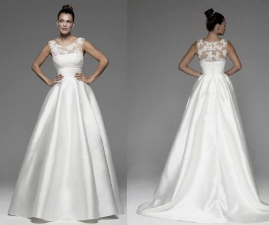 83f5e6946 Vestido de novia Anik de Innovias desde solo 400€.